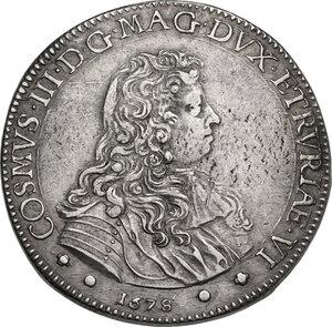 obverse: Firenze. Cosimo III de  Medici (1670-1723). Piastra I tipo, 1678
