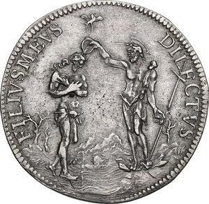 reverse: Firenze. Cosimo III de  Medici (1670-1723). Piastra I tipo, 1678