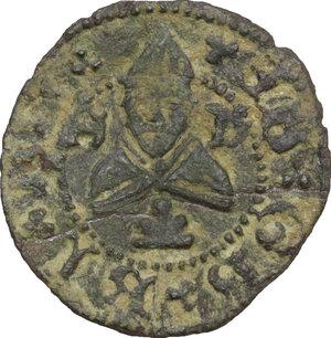 reverse: Gubbio. Francesco Maria I della Rovere (1508-1538). Picciolo