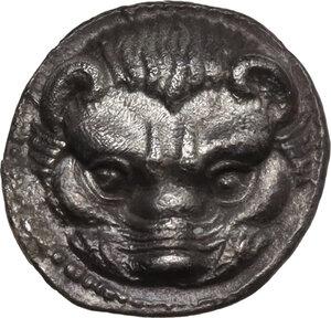 obverse: Bruttium, Rhegion. AR Litra, c. 420-415/410 BC