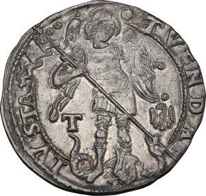 reverse: L Aquila. Ferdinando I d Aragona (1458-1494). Coronato