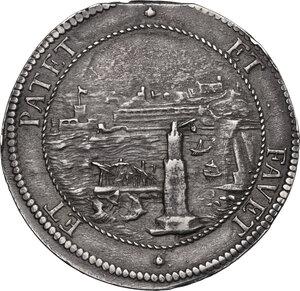 reverse: Livorno. Cosimo III de  Medici (1670-1723). Tollero 1703