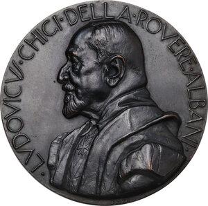 obverse: Malta SMOM. Ludovico Chigi Albani della Rovere (1866-1951), Gran Maestro del Sovrano militare ordine di Malta. Medaglia 1931