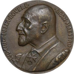 obverse: Malta SMOM. Ludovico Chigi Albani della Rovere (1866-1951), Gran Maestro del Sovrano militare ordine di Malta. Medaglia 1950
