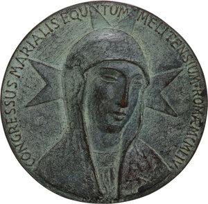 reverse: Malta SMOM. Medaglia 1954 per il Congresso Mariano