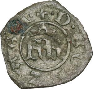 obverse: Mantova. Francesco I Gonzaga (1383-1407). Bagattino
