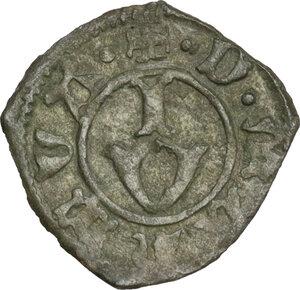 reverse: Mantova. Francesco I Gonzaga (1383-1407). Bagattino