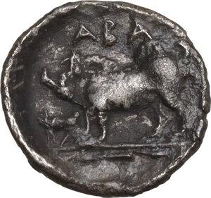 reverse: Abakainon. AR Litra, c. 410-400 BC