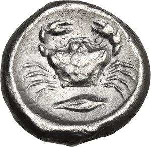 reverse: Akragas. AR Didrachm, c. 480/478-470 BC