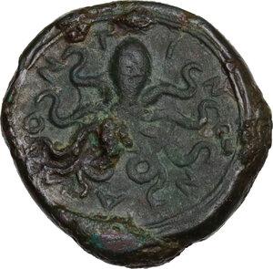 reverse: Alontion. AE Tetras (?), c. 334-325 BC