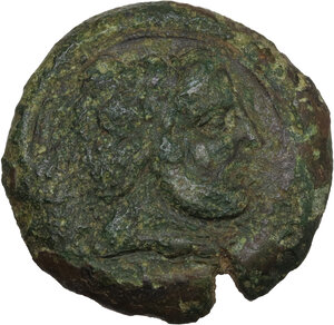 obverse: Uncertain Central Etruria. Incuse Centesimal Group. AE 30-Units, late 4th-3rd century BC