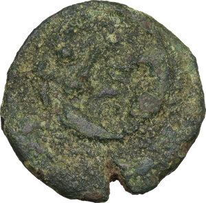 reverse: Uncertain Central Etruria. Incuse Centesimal Group. AE 30-Units, late 4th-3rd century BC