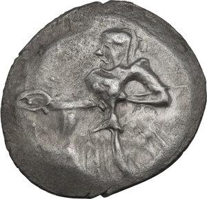 obverse: Entella. AR Litra, c. 430-420 BC