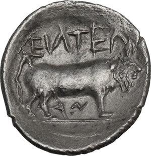 reverse: Entella. AR Litra, c. 430-420 BC