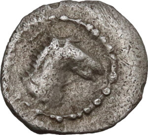 obverse: Gela. AR Hexas-Dionkion, c. 480/75-475/70 BC