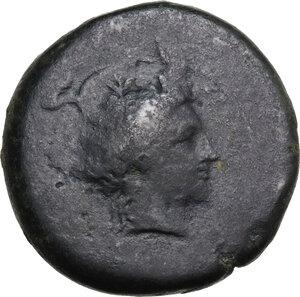 obverse: Herbessos. AE 28 mm, c. 335-325 BC