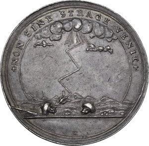 obverse: Eugenio (1663-1736). Medaglia 1716 per la presa di Timisoara durante la guerra contro la Turchia
