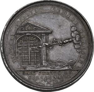 reverse: Eugenio (1663-1736). Medaglia 1716 per la presa di Timisoara durante la guerra contro la Turchia