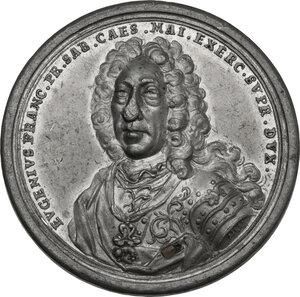 obverse: Eugenio (1663-1736). Medaglia 1736 per la morte