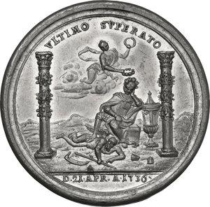 reverse: Eugenio (1663-1736). Medaglia 1736 per la morte