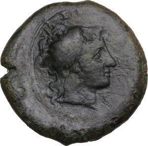 obverse: Herbessos. AE 27 mm, c. 325-310 BC