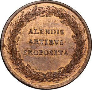 reverse: Vittorio Amedeo III (1773-1796). Medaglia s.d. (1778) per la Reale Accademia di Pittura e Scultura e destinata agli artisti dell Accademia del Nudo