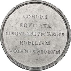 reverse: Vittorio Emanuele I (1802-1821). Medaglia 1814 saluto della Guardia Nobile torinese