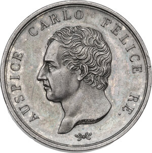 obverse: Carlo Felice (1821-1831). Medaglia 1828