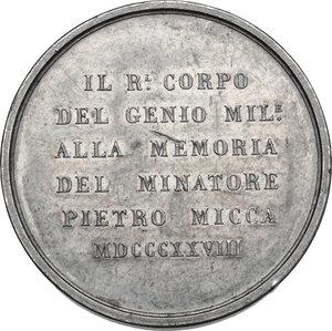 reverse: Carlo Felice (1821-1831). Medaglia 1828