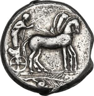 obverse: Himera. AR Tetradrachm, c. 460 BC
