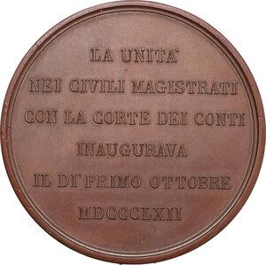 reverse: Vittorio Emanuele II (1820-1878). Medaglia 1862
