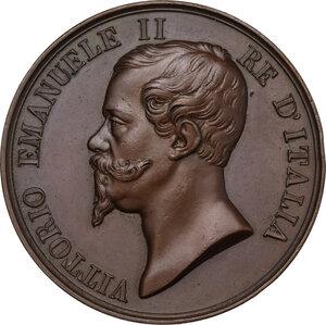 obverse: Vittorio Emanuele II (1820-1878). Medaglia s.d