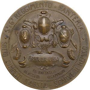 reverse: Regnando Vittorio Emanuele II (1861-1878). Vittorio Amedeo II (1666-1730). Medaglia celebrativa s.d. (1875)