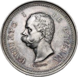 obverse: Umberto I (1844-1900). Medaglia 1898