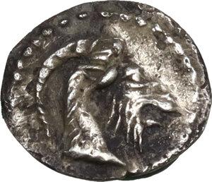 obverse: Himera. AR Hexas - Dionkion, c. 420-412 BC