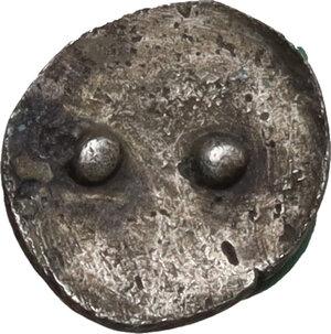 reverse: Himera. AR Hexas - Dionkion, c. 420-412 BC
