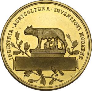 reverse: Vittorio Emanuele III (1869-1943). Medaglia 1911 in occasione delle Esposizioni Internazionali Riunite