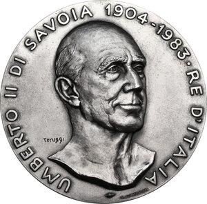 obverse: Umberto II (1904-1983). Medaglia s.d. (1983) in ricordo