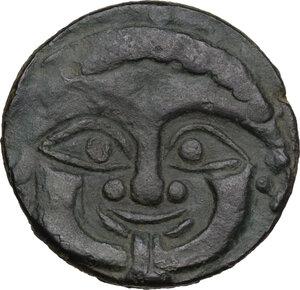 obverse: Himera. AE Tetras, c. 430-420 BC