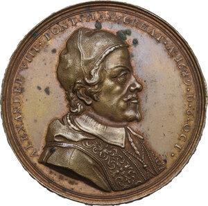 obverse: Alessandro VIII (1689-1691), Pietro Vito Ottoboni . Medaglia 1689