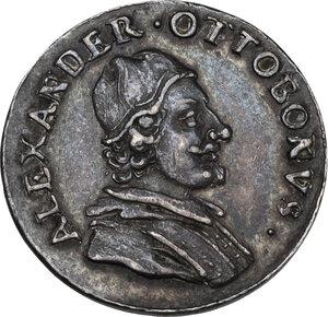 obverse: Alessandro VIII (1689-1691), Pietro Vito Ottoboni . Medaglietta s.d