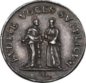 reverse: Alessandro VIII (1689-1691), Pietro Vito Ottoboni . Medaglietta s.d
