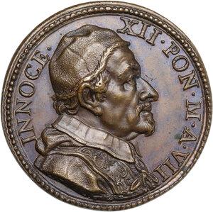 obverse: Innocenzo XII (1691-1700), Antonio Pignatelli. Medaglia annuale A. VII
