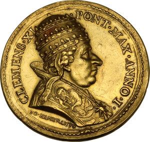 obverse: Clemente XI (1700-1721), Giovanni Francesco Albani. Medaglia annuale A. I