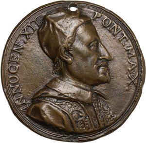 obverse: Innocenzo XII (1691-1700), Antonio Pignatelli. Medaglia s.d