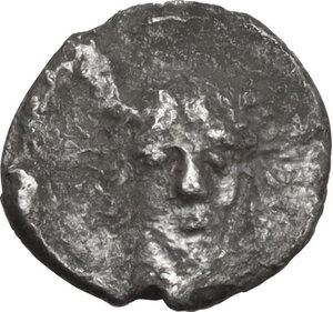 obverse: Kamarina (?). AR Hemilitron, c. 413-410 BC