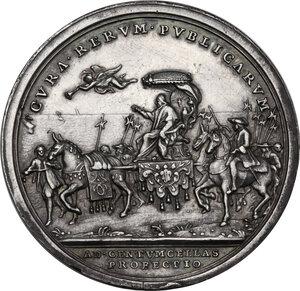reverse: Benedetto XIV (1740-1758), Prospero Lambertini. Medaglia annuale A. VII