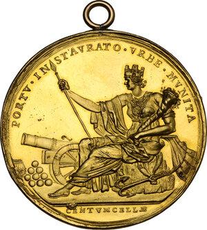 reverse: Pio VI (1775-1799), Giovanni Angelo Braschi. Medaglia annuale A.XIX