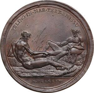 reverse: Pio VI (1775-1799), Giovanni Angelo Braschi. Medaglia annuale, A. XX, 1794