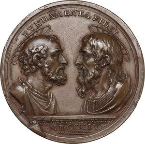 reverse: Pio VII (1800-1823), Barnaba Chiaramonti. Medaglia 1804
